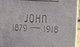 """Johnston Irvin """"John"""" Glass"""