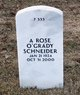 Profile photo:  A Rose <I>O'Grady</I> Schneider