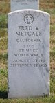 Fred V Metcalf