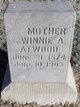 Winnie A <I>VanMeter</I> Atwood