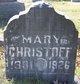 Mary Christoff