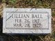 Lillian Ball