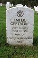 Emelie Gertrude <I>Gummel</I> Brammer