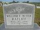 "Profile photo:  William F ""Buster"" Ratliff"