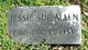 Profile photo:  Jessie Sue <I>Claiborne</I> Allen