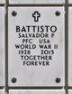Profile photo:  Salvador Peter Battisto