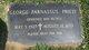 Profile photo: Rev George John Parnassus, Jr