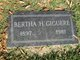 Profile photo:  Bertha Helene Giguere