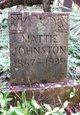 Mattie Johnston