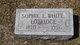 Sophie L. <I>White</I> Lotridge