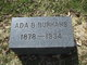 Profile photo:  Ada B Burhans