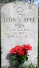 Profile photo:  Leon Alvin Abel