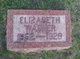 Profile photo:  Elizabeth <I>Fox</I> Wagner