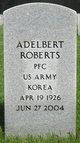 Profile photo:  Adelbert Roberts