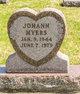 Profile photo:  Johann Myers