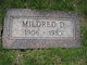 Profile photo:  Mildred Doris <I>McElroy</I> Landis