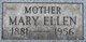 Mary Ellen <I>Reidy</I> Cronin
