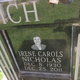 Irene Carols <I>Nicholas</I> Gaich