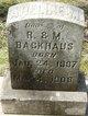 Profile photo:  Adeline M Backhaus