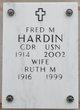 Profile photo:  Fred Morgan Hardin