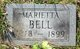 Marietta <I>Hughes</I> Bell