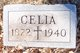 """Cecilia """"Celia"""" <I>Widhalm</I> Ableidinger"""