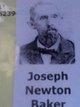 Profile photo:  Joseph Newton Baker