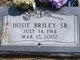 Profile photo:  Hosie Briley, Sr