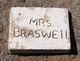 Profile photo: Mrs Braswell