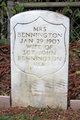 Mrs John Bennington