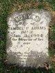 Profile photo:  Mary M <I>Robinson</I> Adams