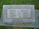 Profile photo:  Andy J Adams