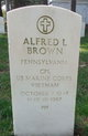 Corp Alfred Lee Brown
