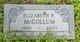 Elizabeth V. <I>Roberts</I> McCollum