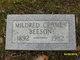 Mildred <I>Cromes</I> Beeson