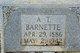 Profile photo:  A T Barnette