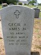 Profile photo:  Cecil A Ames, Jr
