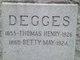 Profile photo:  Bettie May Degges