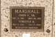 John V Marshall, Sr