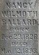 Nancy Wilmoth <I>Williams</I> Ballard
