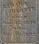 Sarah A <I>Rice</I> Barber
