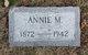 Profile photo:  Annie M <I>Woodward</I> Grover