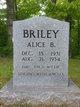 Alice B Briley