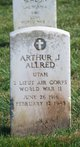 "Profile photo: 2LT Arthur Jay ""Bud"" Allred"