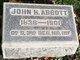 John H Abbott