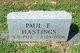 Profile photo: PFC Paul Everette Hastings
