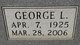 George Luther Adams, Sr