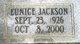 Eunice <I>Jackson</I> Young