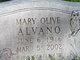 Profile photo:  Mary Olive Alvano