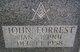 Profile photo:  John Forrest Woods Sr.
